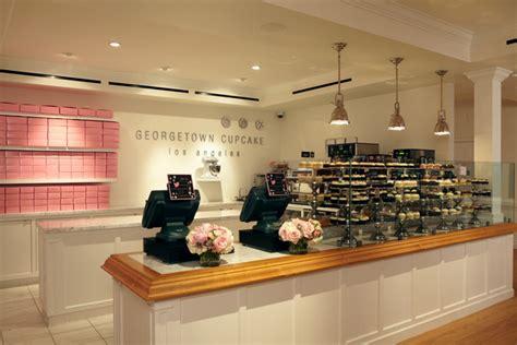 Cupcake Shop Interior Design by Georgetown Cupcake Los Angeles Ralph Gentile