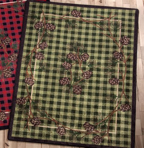 4 X 3 Rug by Wooded Pines Green Rug 3 X 4