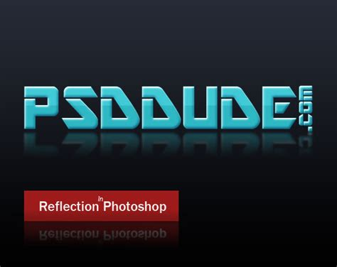 tutorial photoshop reflection effect create a reflection in photoshop photoshop tutorial