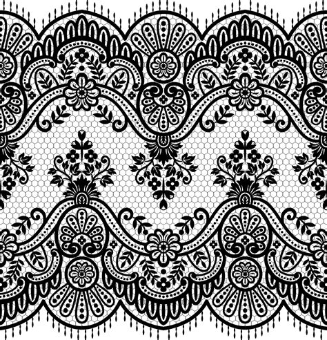 seamless lace pattern vector lace seamless borders vectors set 01 vector floral free