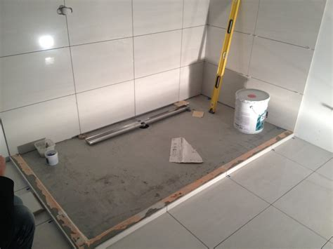 Bathroom Shower Drain Www No Curb Linear Shower Drains And Barrier Free Bathrooms Using A Kerdi Drain With