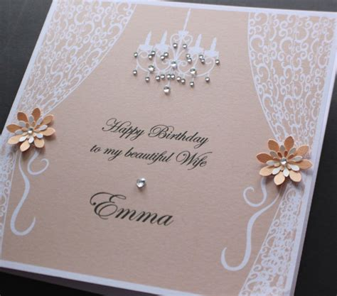 Handmade Personalised Birthday Cards - handmade personalised vintage style birthday card many
