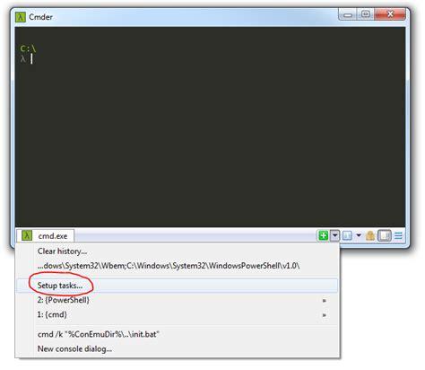reset visual studio 2013 settings from command prompt add visual studio 2013 command line tools to cmder kevin