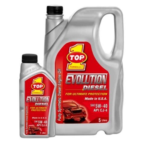 Oli Top1 Evolution Sae 5w 40 Api Sm Fully Synthetic Made In Usa 1liter top 1 evolution diesel 5w 40 api cj 4 common rail oli top 1