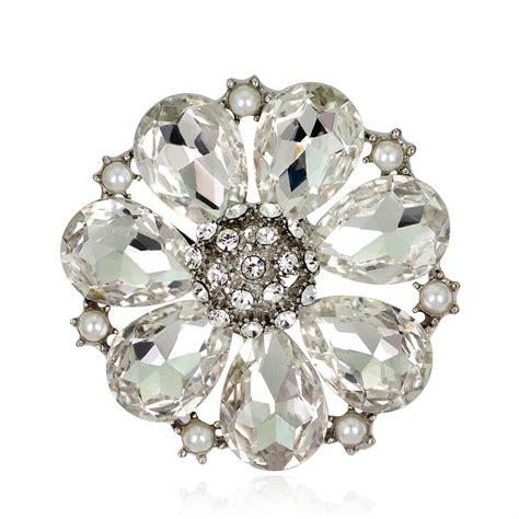 design animal brooch rhinestone women diamante wedding