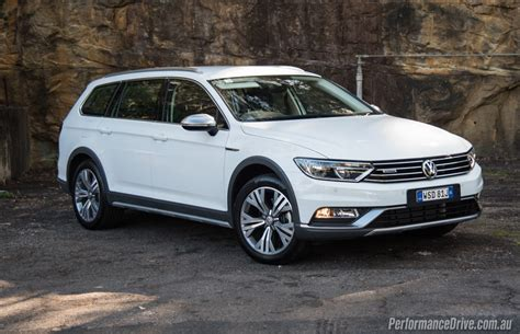 volkswagen white 2016 volkswagen passat alltrack review video
