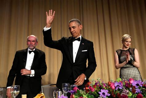president obama white house correspondents dinner obama roasts trump drops mic at last white house correspondents dinner nbc news