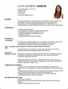 Modelo Curriculum Administrativo Contable Modelo Cv Contable Especializado En Facturaci 243 N Livecareer