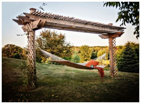 Hammock Arbor hammock arbor yard ideas