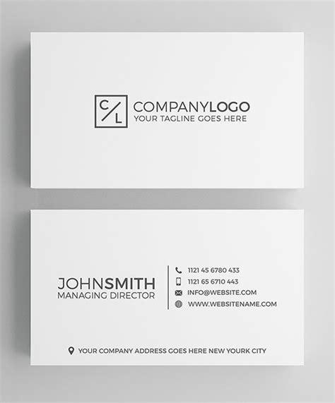 Minimal Design Cards