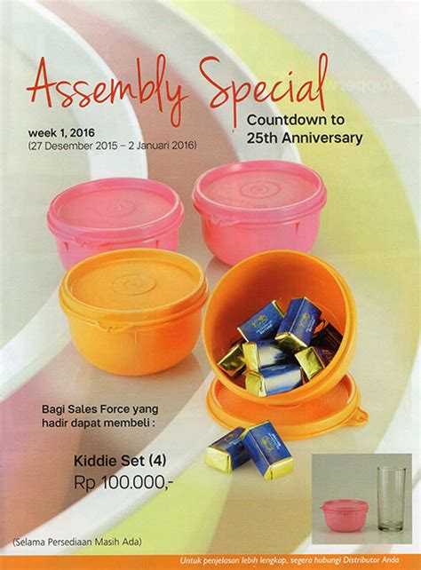 Tupperware Activity activity tupperware januari 2016 dan katalog promo