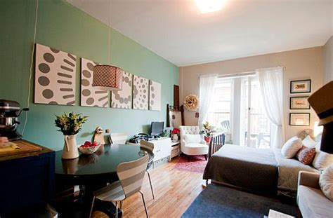 how to furnish a small apartment studio apartments that make the most of their space