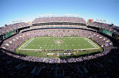 call m and t bank ravens announce 5 million wi fi network for fans at m t
