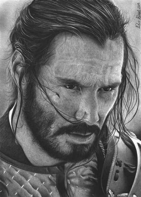 Pin by Nazim Süleymanov on vikings | Pencil portrait