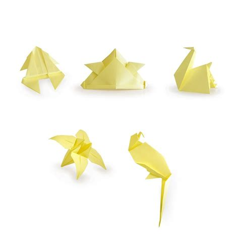 sticky note origami origami sticky notes 3 pack