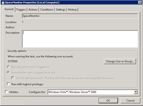modify scheduled tasks in windows 8 and windows server 2012 windows run task scheduler with system user mick genie s