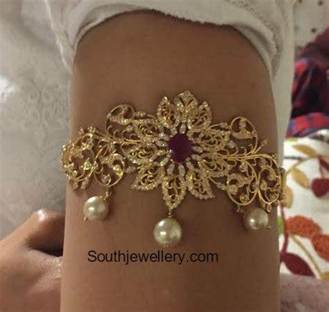 Bajuband Choker arm vanki jewelry designs jewellery designs