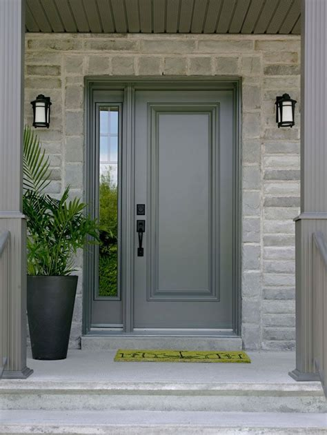 Steel Front Entry Doors With Sidelights Single Front Door With One Sidelight Images Front Doors Doors And Door Entry