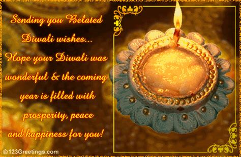 belated diwali wishes  specials ecards greeting cards