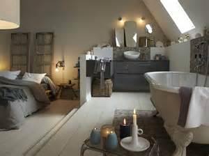 tout sur la salle de bains ouverte sur la chambre