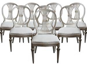 Swedish Dining Chairs Gustavian Style Dining Chairs Seller Cupboards Roses