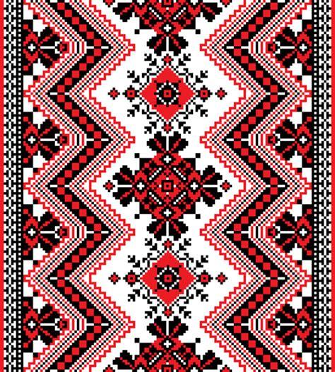 ukraine pattern vector ukrainian styles embroidery patterns vector set 02