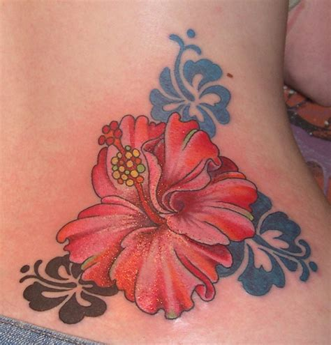 flowers design tattoo hibiscus tattoos designs ideas and meaning tattoos for you
