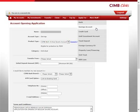 Letter Of Credit Cimb Bank opened a cimb airasia savers account the 8th voyager
