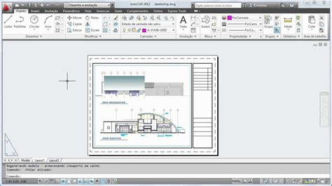 zoom no layout do autocad curso autocad 2012 completo como plotar um layout de
