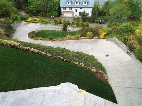 driveway design on hill do you have a steep driveway something you might not