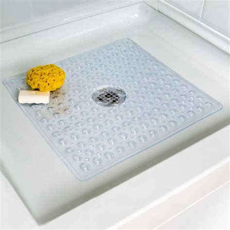 In Shower Mat by Slipx 174 Solutions 174 Essential Square Shower Mat Boscov S