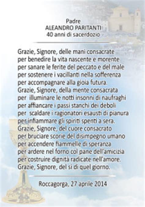 per sempre sarai testo i 40 anni di sacerdozio d un amico www valdinotomagazine it