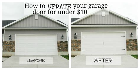how to update your house give your garage door major curb appeal for under 10
