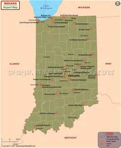 airports in map indiana history geography population state facts