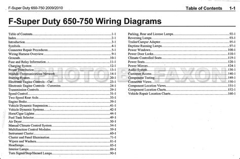 ford   medium truck wiring diagram