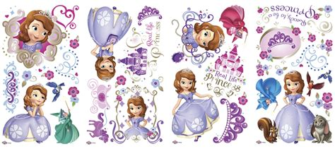 Princess Castle Wall Sticker rmk2294scs sofia the first wall stickers
