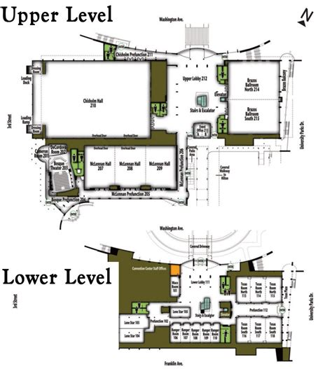 convention center floor plans floor plans waco convention center