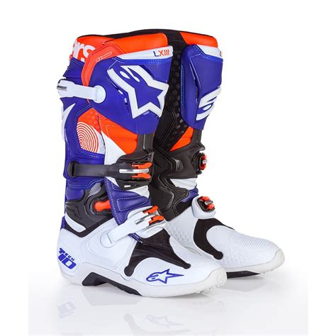 motocross boots alpinestars alpinestars limited edition indianapolis tech 10 mx boots