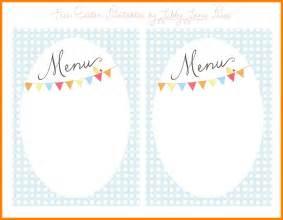 Free Printable Menu Templates by 9 Printable Menu Template Sle Of Invoice