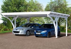 carport 2 voitures toit plat