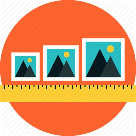 Design Icon Size   adjustable content frame image photos picture