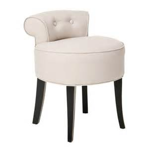 vanity stool georgia vanity stool beige furniture beige safavieh