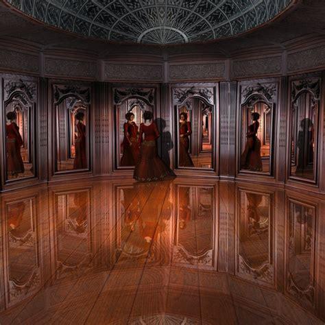 mirrored room mirror room 3d models kawecki