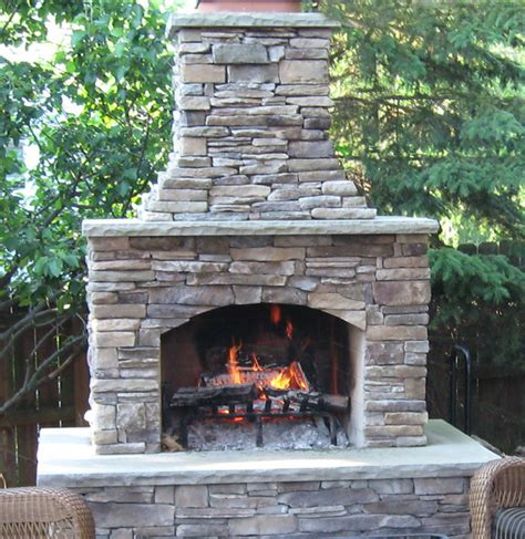 small backyard fireplace 48 quot contractor series outdoor fireplace kit outdoors