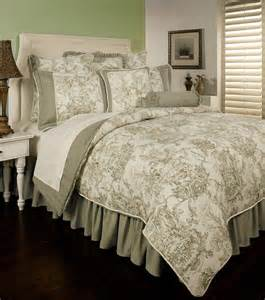 Toile Quilts And Comforters by Classic Impression By Toile Bedding Atzine