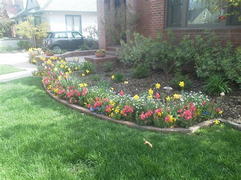 fall winter flower beds landscape makeover folsom sacramento