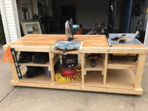 workshop work bench 25 best ideas about diy workbench on garage