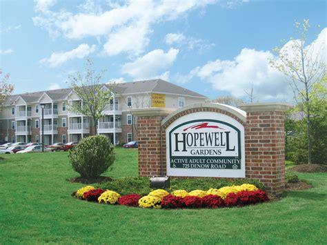 One Bedroom Apartments Nj Hopewell Gardens 55 Community Rentals Pennington Nj