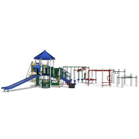 Landscape Structures Design Inc Playbooster 174 Ages 5 12 Landscape Structures Inc