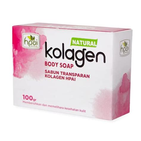 Hpai Coffee sabun kolagen hpai merupakan sabun kolagen transparan yang halal
